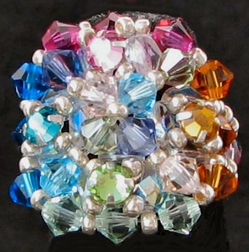 Addison celestia silvered bead ring kit