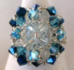 Blue Addison bead ring kit