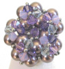 Oleron mauve bead ring pattern