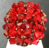 Red Agate bead ring instructions