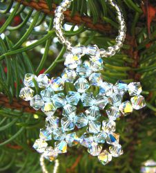 Crystal hanging Star