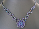 Syros Iridescent blue Necklace Kit