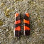 Boucles d'oreilles avec 2 essences de bois