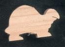 Figurine tortue en bois
