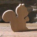 marque place ecureuil mariage theme foret, nature