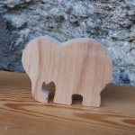 marque place elephant mariage theme animaux sauvages