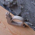 Rond de serviette escargot personnalisable bois massif fait main