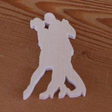 Figurine danseurs bolero lg 7cm ep 3mm