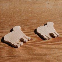 Miniature mouton, agneau, brebis decorer,  loisirs créatifs