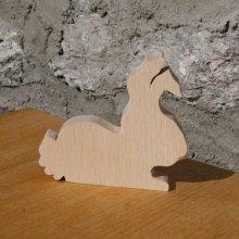 marque place lapin mariage theme animaux de la ferme