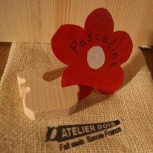 Marque place poule poulette en bois d'épicéa massif, réutilisable, à décorer, par 10, porte nom mariage theme  animaux de la ferme , basse cour fait main