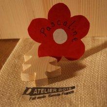 Marque place sapin en bois d'épicéa massif, réutilisable, à décorer, par 10, porte nom mariage theme  nature montagne foret arbre fait main