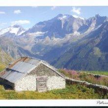 Carte postale Le Tovet chalet d'alpage a champagny en vanois