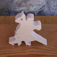 Figurine danseurs tango lg 6cm ep 7mm