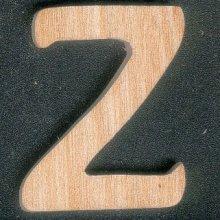 Lettre Z en bois