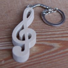 porte cle clef de sol, cadeau musicien