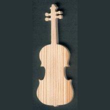 violon en bois ht15cm