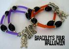 bracelet facile pour Halloween