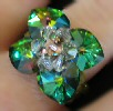 Aruba Swarovski crystal bead ring pattern
