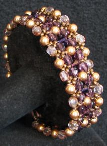 Plum golden latitude bracelet instructions