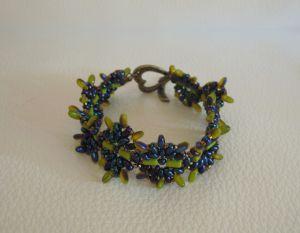 Bracelet tutorial Olivine Indiana