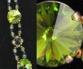 Bracelet en kit Shetland olivine