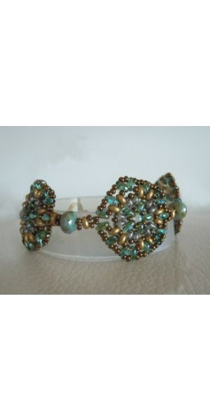 Aqua green Rondo bracelet