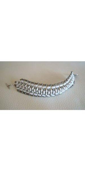 Instructions for the white Tendance bracelet