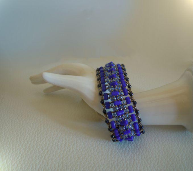 Indigo Tendance bracelet tutorial