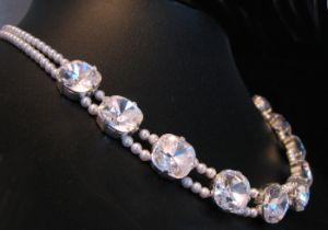 bijoux de mariage en cristal