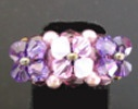 Kit bague Ceuta purple velvet