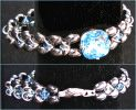 Kit bracelet Molene Hématites Aquamarine