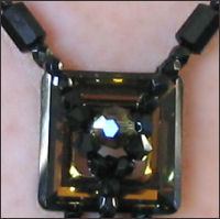 Kanak tie necklace pattern