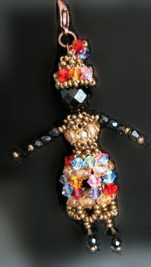 African beaded doll  instructions