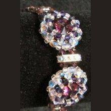 Kit bracelet Giraglia Prune Argent