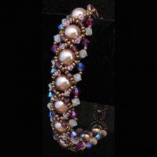 Bracelet Oriane Violaine en kit