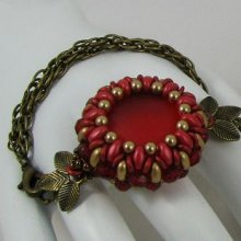 Bracelet en kit Queensland Rouge