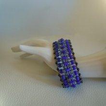 Bracelet tendance Indigo en kit