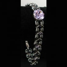 Kit bracelet Molene Hématite Violet