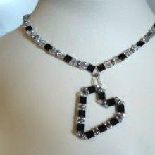 Collier en kit pendentif Coeur en Tila