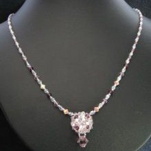 Kit collier Arz Crystal Amethyst