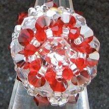 Kit bague Dome Rouge Passion