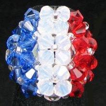 Kit bague Drapeau France