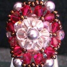 Kit bague Jersey rubis