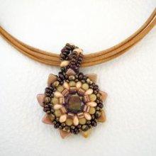 Pendentif en kit Starling bronze