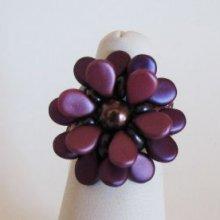 Bague en kit Pip Burgundy violet