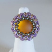 Kit bague Queensland topaz violet