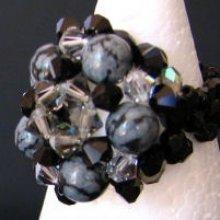 Bague en kit Vanua Obsidiennes