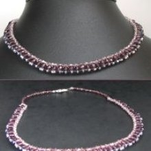Notice collier Shetland Very Purple