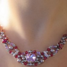 Notice de collier loaven fuchsia